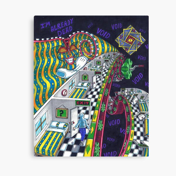 Outer Zone Canvas Print