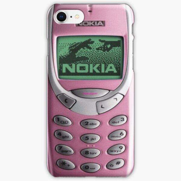 3310 Nokia Case - Vintage iPhone Case & Cover Pink iPhone Snap Case