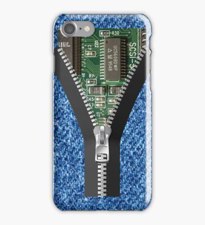 Zipper iphone Case iPhone Case/Skin
