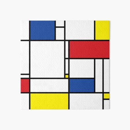 Mondrian Minimalist De Stijl Modern Art I.I © fatfatin Art Board Print