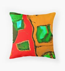 Six Degrees of Separation Throw Pillow