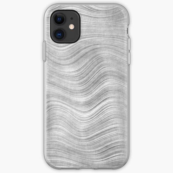 Fine Grain Beskar Steel Ingot - Steel iPhone Soft Case