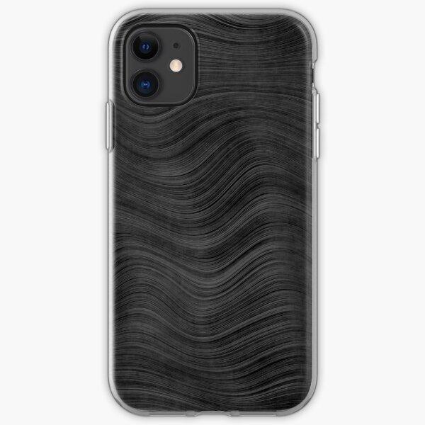 Fine Grain Beskar Steel Ingot - Dark Steel iPhone Soft Case