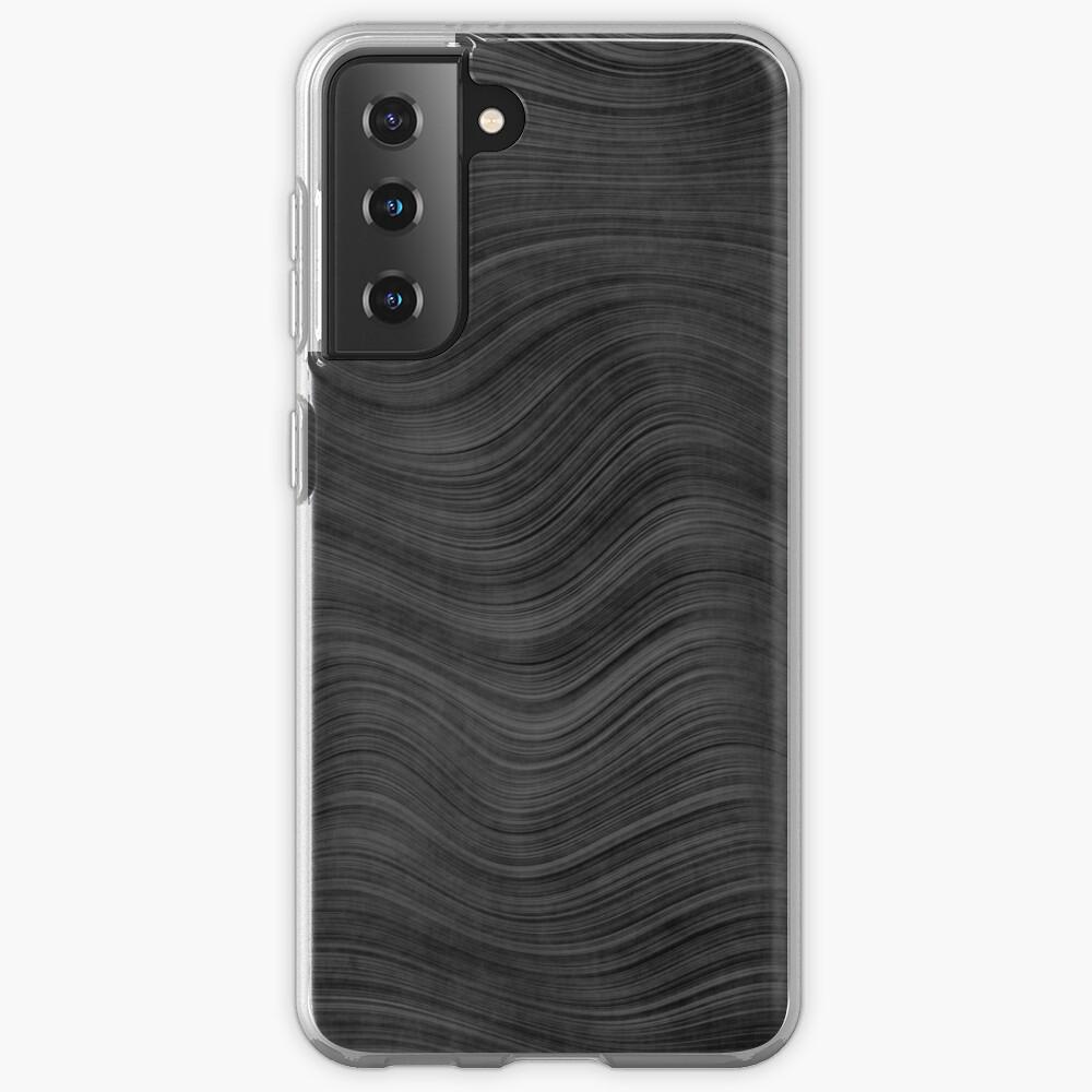 Fine Grain Beskar Steel Ingot - Dark Steel Case & Skin for Samsung Galaxy