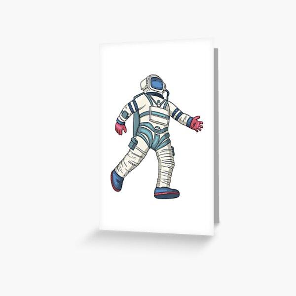 Dancing In Space Greeting Card