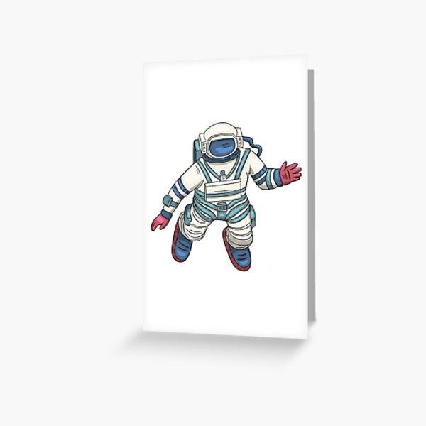 Wish I Were Weightless Like An Astronaut Greeting Card