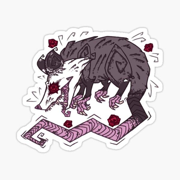 Playing Dead Sticker