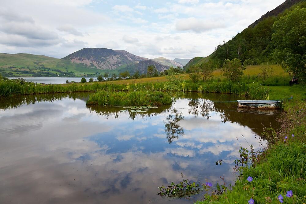 Cloud Pond Near Ennerdale, Cumbria by Jan Fialkowski