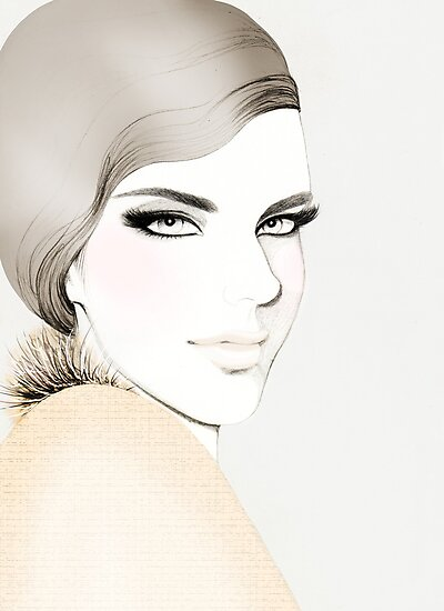 Fashion Portrait by Anoma Natasha Paleebut