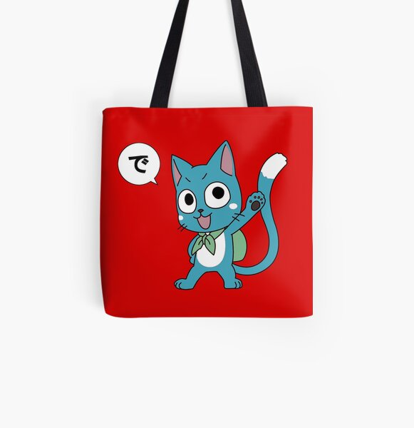Happy Tail All Over Print Tote Bag