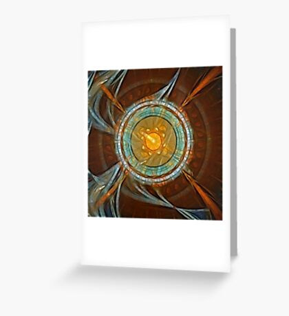In the Orbit Greeting Card