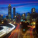 Atlanta Skyline by Inge Johnsson