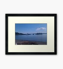 Lincoln Park, Wa Framed Print
