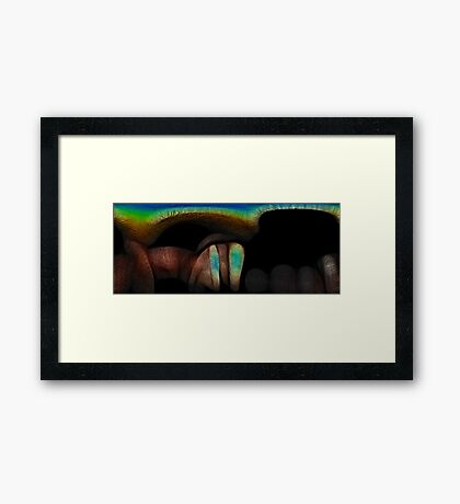 Intimate Chaos Framed Print