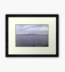 Alki Beach, Wa Framed Print