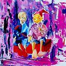 Brothers Pinocchio  by Kasia B. Turajczyk