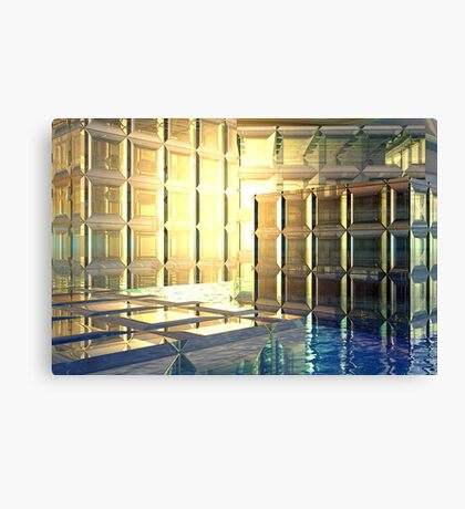Vexing // Nothing more than a few glass cubes Canvas Print
