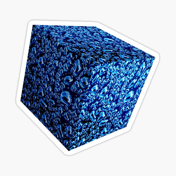 Bluzoid - Water Sticker