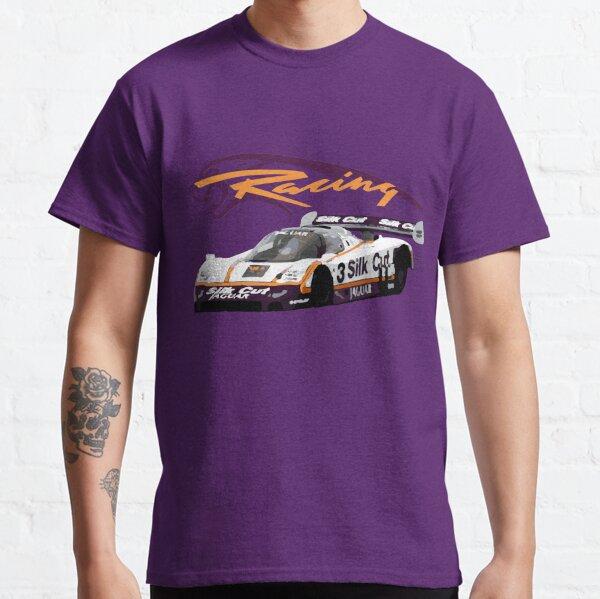 Silk Cut Jaguar XJR-9 IMSA GTP Race Car Classic T-Shirt