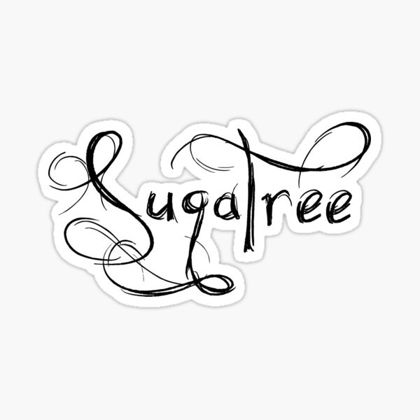 SugaTree logo Sticker