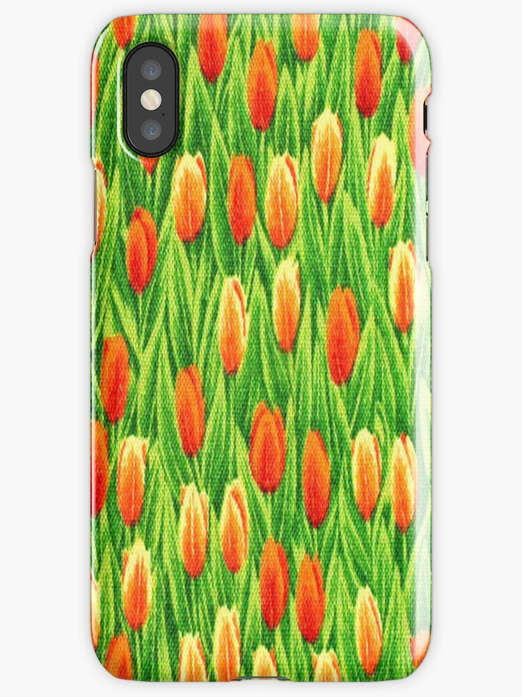Tulip iPhone 4/4S Case by purplesensation