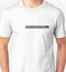 dubious morals Unisex T-Shirt