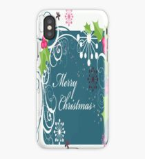 Merry Christmas iPhone 4/4S Skin iPhone Case