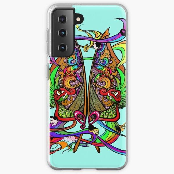 Psychedelic Gunungan II Samsung Galaxy Soft Case