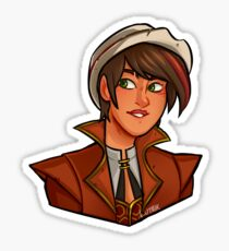 Tftbl Fiona Tales From The Borderlands Inspired Design Sticker