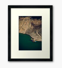 Colourful Boats Framed Print