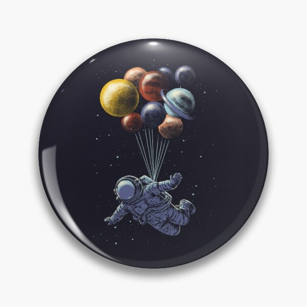 Space Travel Pin