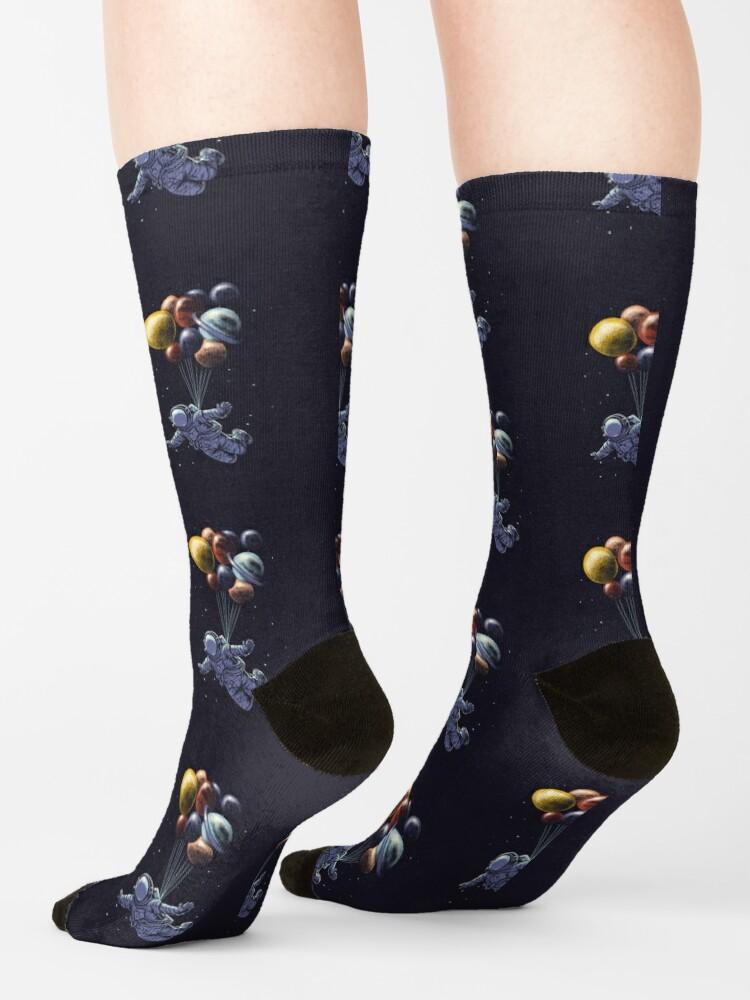 Alternate view of Space Travel Socks
