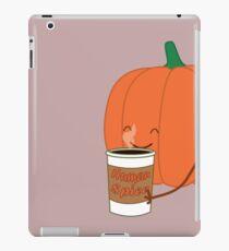 Human Spice Latte iPad Case/Skin