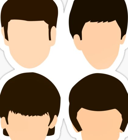 The Beatles - Minimalistic Sticker