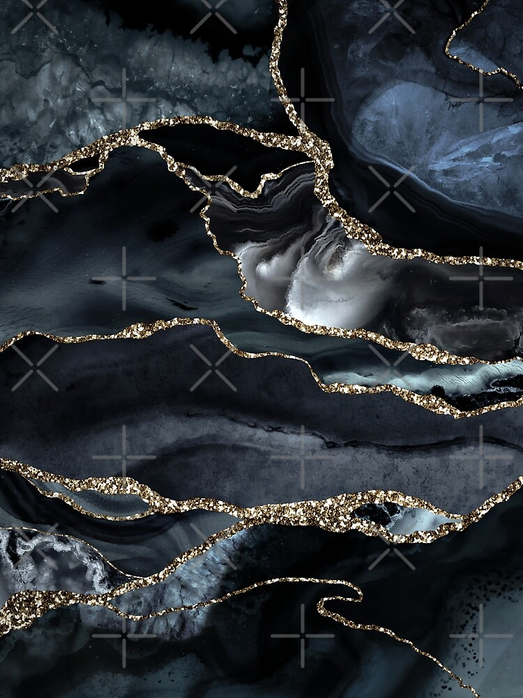 Night Masculine Marble Landscapes by MysticMarble