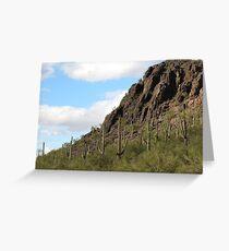 Mother Nature in Marana,AZ Greeting Card