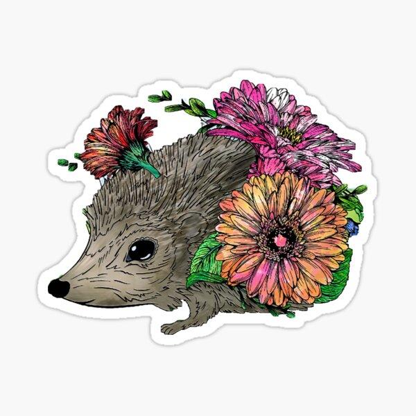 Country hedgehog Sticker