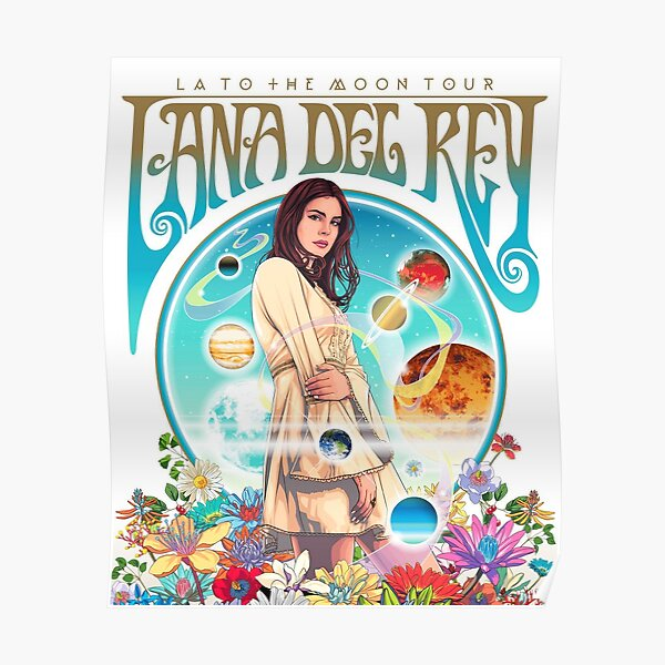 lana del la to the moon ray tour 2020 siodok Poster