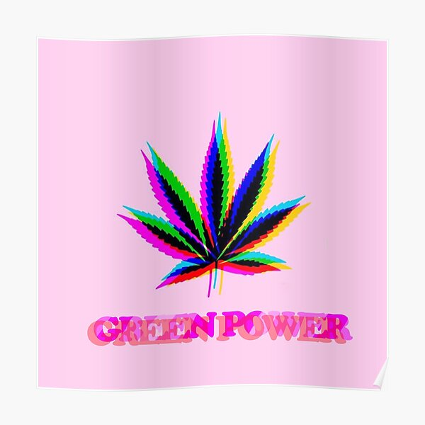GREEN POWER GO MARY JANE! Poster