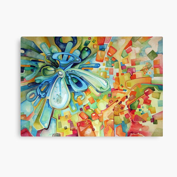 Estimating - Watercolor Painting Canvas Print