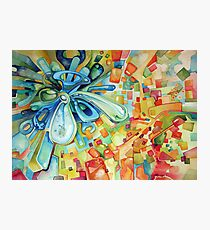 Estimating - Watercolor Painting Photographic Print
