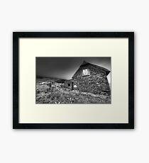 Irish Famine Cottage Framed Print