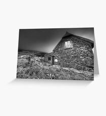 Irish Famine Cottage Greeting Card