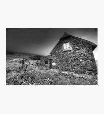 Irish Famine Cottage Photographic Print