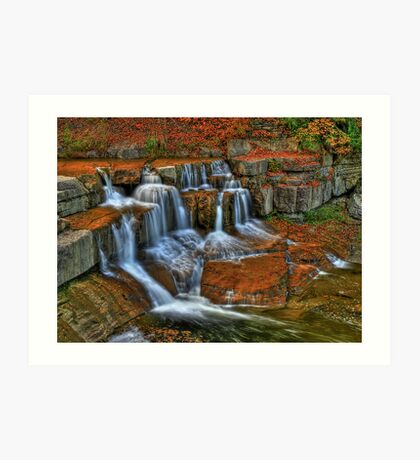 Falls In The Fall Art Print