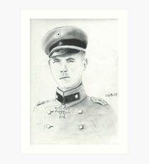 Erwin Rommel Art Print