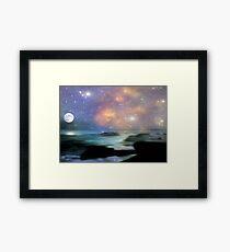Ocean Magic © Framed Print