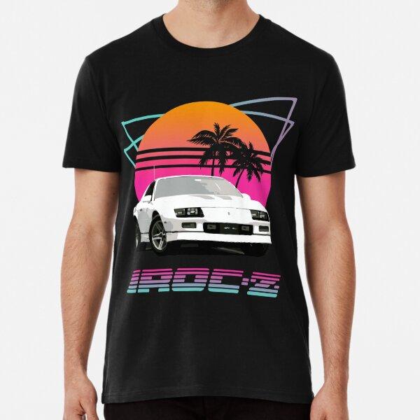 Achtzigerjahre Retro Welle Chevy Camaro IROC-Z Premium T-Shirt