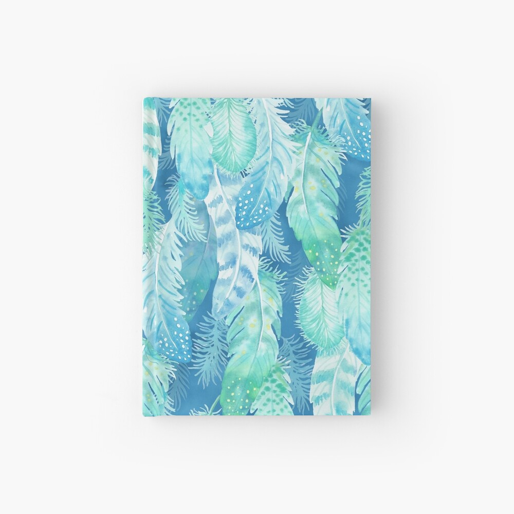 Feather Cover Hardcover Journal
