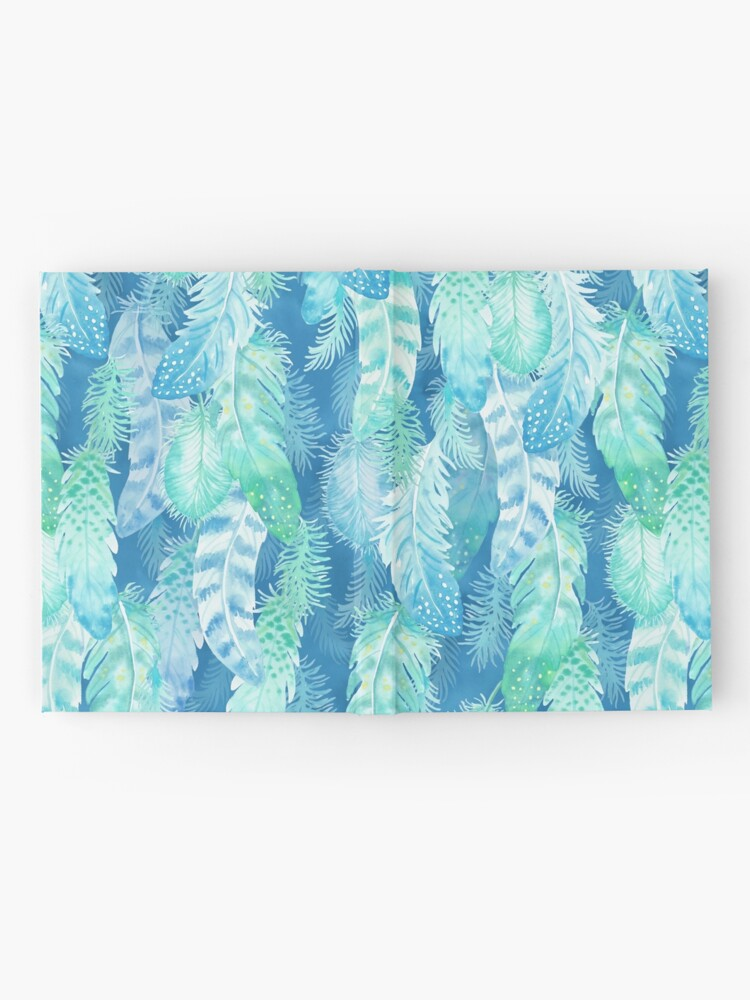 Alternate view of Feather Cover Hardcover Journal